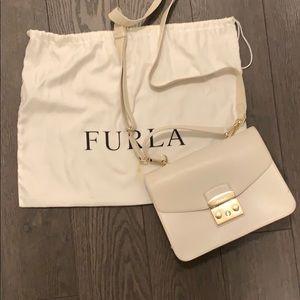 Furla Metropolis Top Handle Bag - petalo (white)